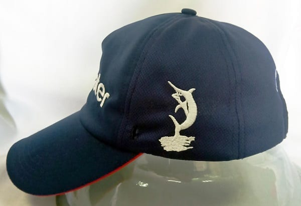 Team Bluewater cap side view