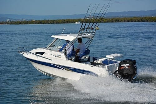 Tournament 2000 Bluewater Hardtop Boat Test