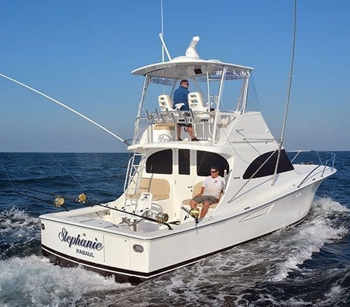 Viking 37 Billfish Boat Test