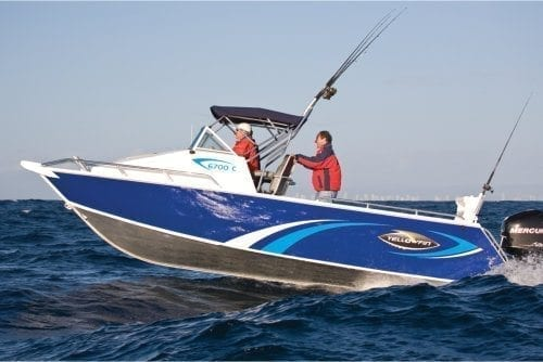 Yellowfin 6700 Cabin Boat Test