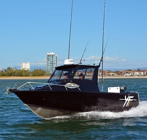 Yellowfin 7600 Southerner Boat Test