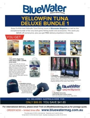 BlueWater Yellowfin Tuna Game Fishing Deluxe Bundle 1