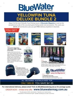 BlueWater Yellowfin Tuna Game Fishing Deluxe Bundle 2
